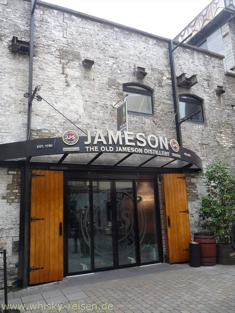 Jameson Whiskey Distillery Whisky Tour Dublin